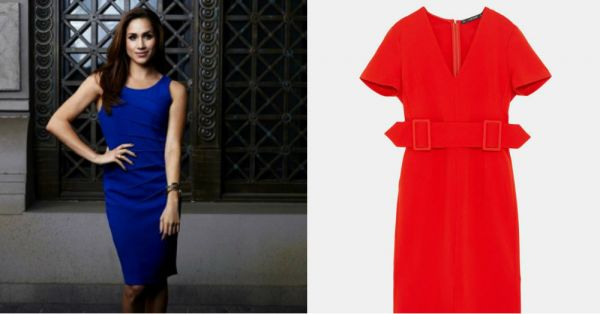 Miss Meghan Markle As Rachel Zane? This Zara Dress Is A Stylish Quick Fix