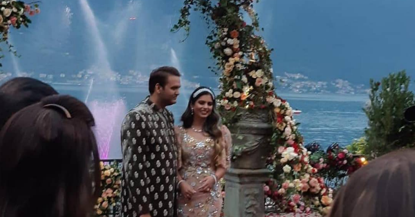 All The Photos From Isha Ambani And Anand Piramal's Hush-Hush Engagement Party In Lake Como In Italy!