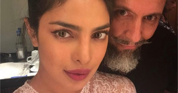 Priyanka Chopra's Makeup At The Ambani Engagement Is Bare And Bold At The Same Time