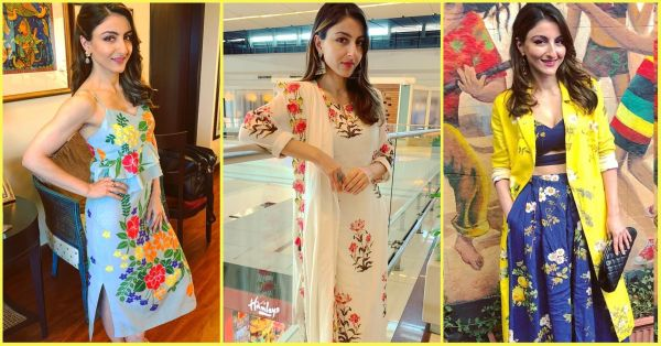 10 Times Soha Ali Khan Rocked The Floral Print Trend On All Kinds Of Outfits