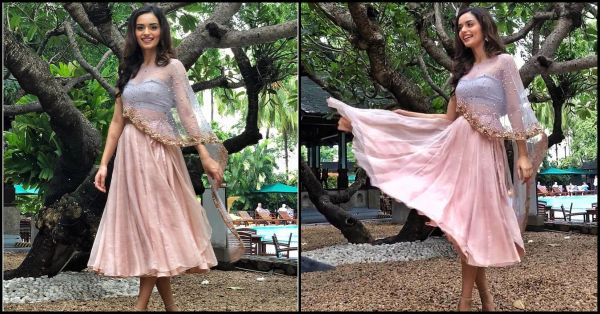 Channel Your Inner Superhero With A Sheer Cape Like, Captain Fashion, Manushi Chhillar