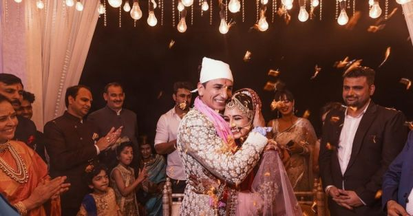 This Video Of Prince & Yuvika Dancing To Dil Diyan Gallan At Their Wedding Is Aww-dorable!