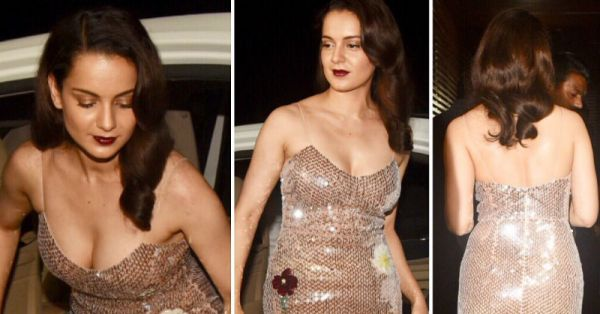 Don't Make THIS Mistake Kangana Ranaut Made While Wearing A Naked Dress!