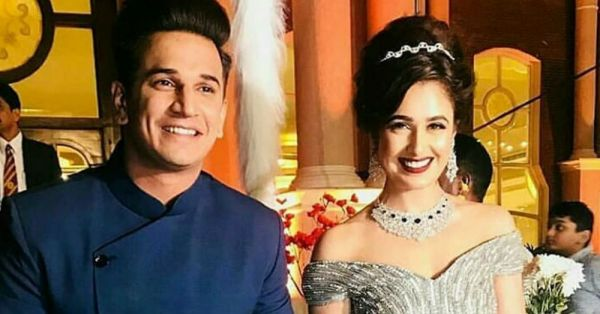 Yuvika-Prince Went Vintage For Their Reception & You've Got To See The Pictures!