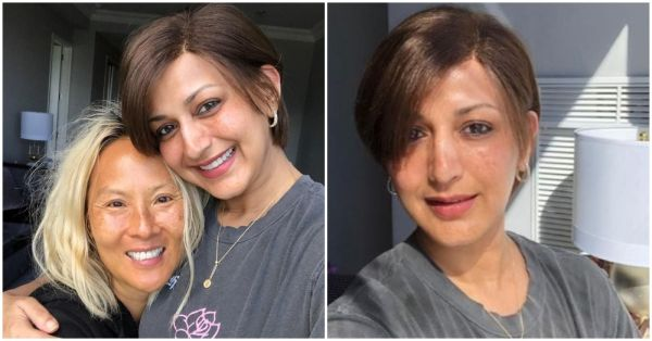Sonali Bendre Will Light Up Your Day As She Tries Out A New Wig & 'Switches On The Sunshine'