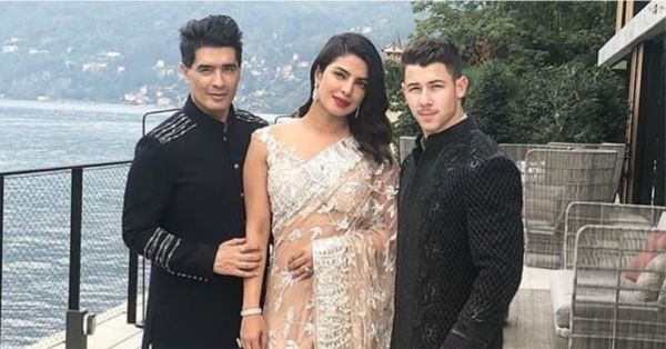 Priyanka Chopra To Wear A Manish Malhotra Lehenga For Her Wedding!
