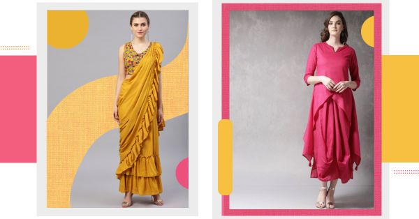 5 Festive Fusion OOTDs To Make Your Diwali Celebrations Special