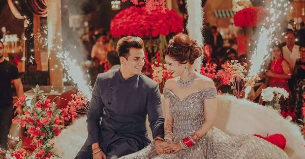 You Will Not Believe How Long It Took To Make Yuvika Chaudhary's 40 Kgs Reception Gown!