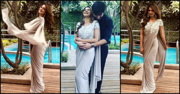 Jennifer Winget Is Making Us Fall In *Bepannah* Pyaar With Her Saree... And Jodi!