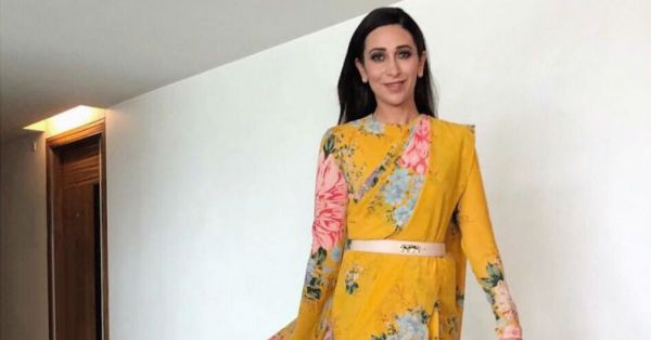 Karisma Kapoor Is A *Superhero* In This One In A Million Sabyasachi Blouse