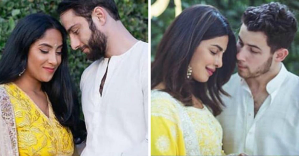 This Couple Recreated Priyanka-Nick's Engagement Picture & Totally Nailed It!
