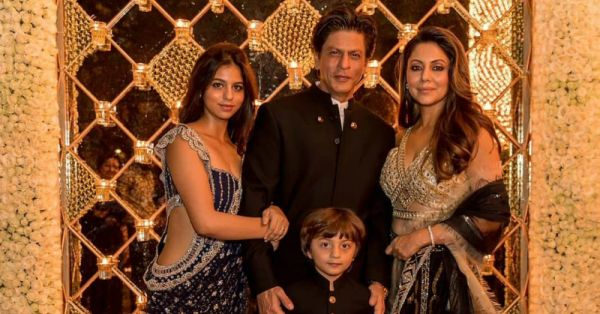 Suhana Khan's Cut-Out Lehenga Saree Was A Diwali Party On Its Own!