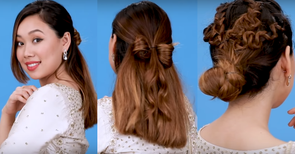 Braids, Buns n' Bows: These No-Heat Hairstyles Will Light Up Your Diwali!