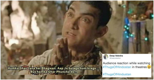 Thugs Of Hindostan Has Caused A Meme Fest 'Coz The Audience Is Saying 'Thug Liya'