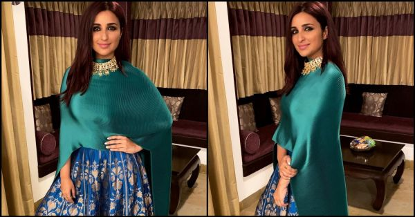 Parineeti's *Genius* Indo-Western Look Will Be A Curvy Woman's Delight This Wedding Season