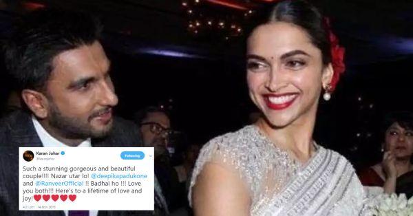B-Town Wished #DeepVeer On Twitter & They're Just As Excited (And Clueless!) As Us