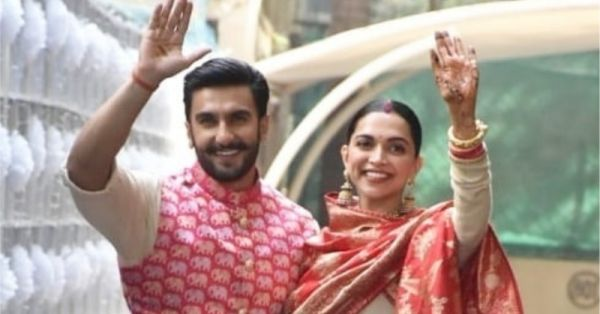 Spotted: Deepika And Ranveer Back In Mumbai & Continuing Their Shaadi Ceremonies