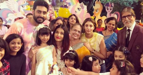OMG! Aishwarya & Abhishek Bachchan Threw The *Cutest* Party For Aaradhya