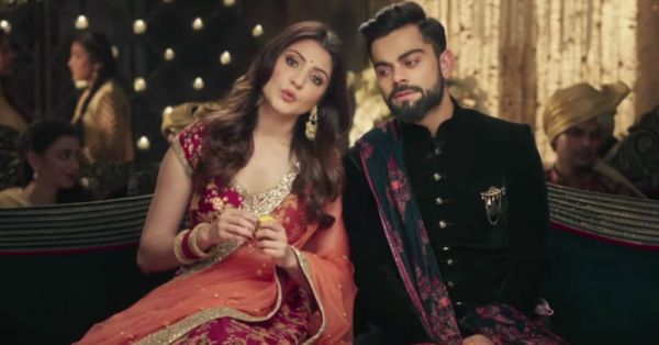 Virat and Anushka's New Manyavar Ad Shows Us What Marriage Looks Like A Year Later!