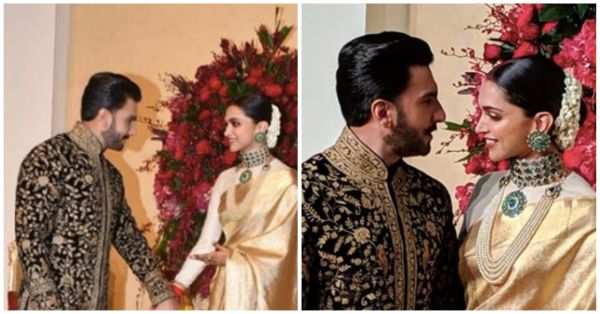 Ranveer Blew A *Kiss* To Deepika At The Reception & OMG We're Dying Right Now!
