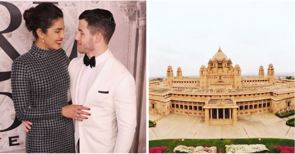 Here's A Sneak Peek Inside Nickyanka's Wedding Venue - The Royal Umaid Bhawan Palace In Jodhpur!