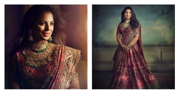 This Just In: Isha Ambani's Outfit For Her Pre-Wedding Pooja Is As Extra As We Expected It To Be!