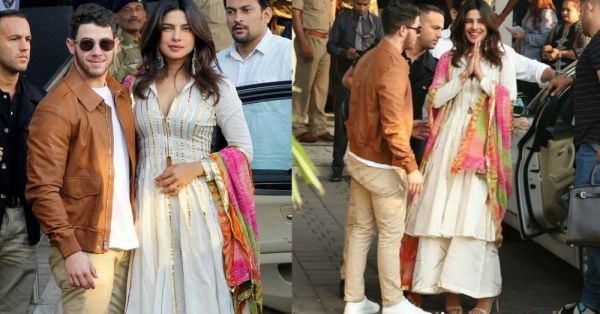 Priyanka Says Goodbye To Singledom Dressed Like *The Desi Girl* She Is!
