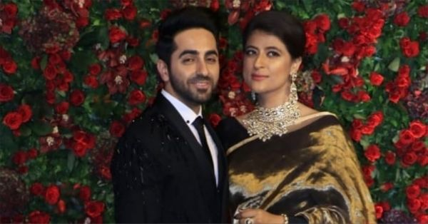 Ayushmann Khurrana & Tahira Kashyap Attend DeepVeer's Wedding Reception