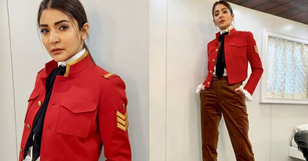 Anushka Sharma Is Wearing The Uniform Of Our Dreams And It's NOT For School