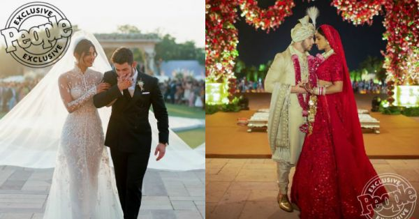 OMG! Priyanka & Nick's Wedding Looks Are Finally Out & They Look Drop-Dead-Gorgeous