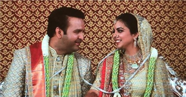 Isha And Anand Are Now A Married Couple & We Can't Stop Drooling Over Her Lehenga!