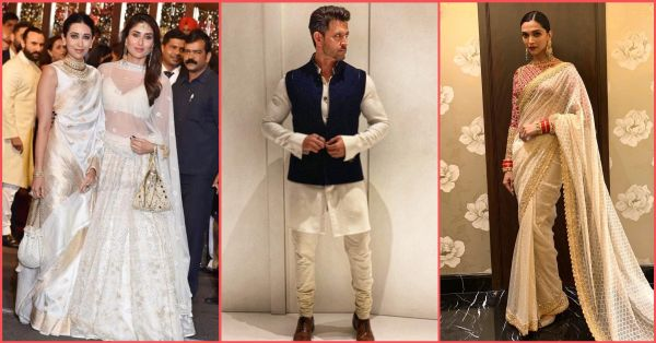 15 Celebrities At The Ambani Wedding Wore White & Here's Why It Is SO Right!