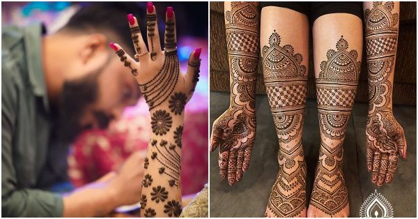 From Minimalist To OTT, The Best Mehendi Designs We Spotted On Brides!