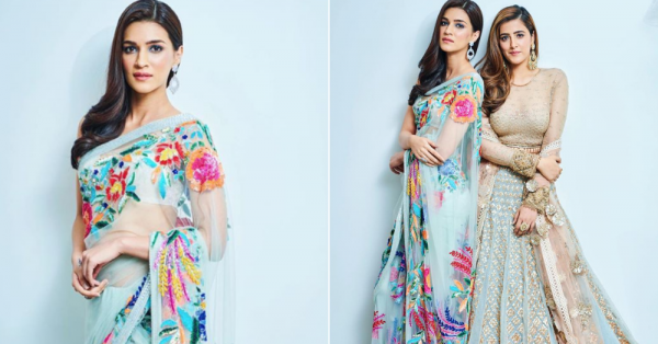 While The Ambanis Had All Our Attention, Kriti Sanon Looked Like A Dream At This Wedding!