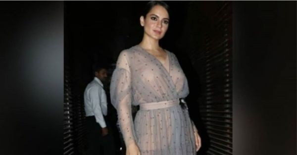 Ladies, You Have Reason To Rejoice Because Kangana Ranaut's Sheer Dress Is *Not* NSFW!