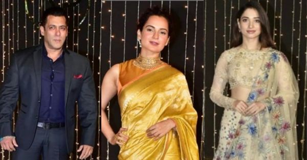 Look Who's Here: Bollywood Stars Are Shining At Nickyanka's Mumbai Wedding Reception!