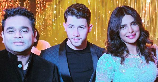 The First Picture Of Nick Jonas & Priyanka Chopra From Their Bollywood Reception Is Here!