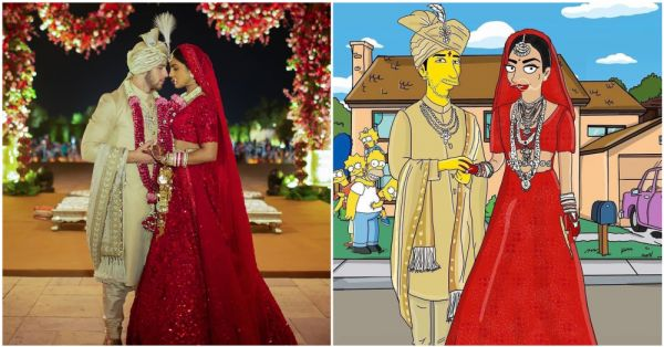 Simpsons-Style: You Can't Miss These Latest Pics Of Priyanka And Nick's Wedding!