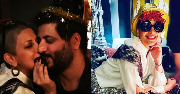 See Pics: Sonali Bendre Celebrates Birthday With Husband Goldie Behl & Close Friends