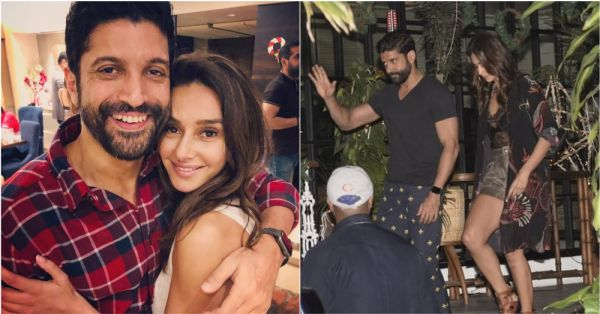 Lovebirds Farhan Akhtar And Shibani Dandekar Step Out For A Cosy Dinner Date!