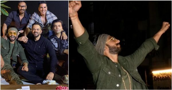 Simmba Success Bash: Ranveer Singh & Deepika Padukone Arrive Separately At The Party!