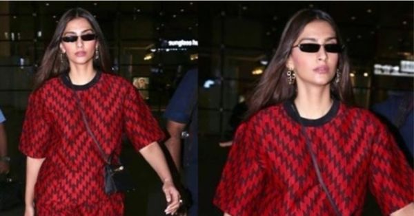 Woven Pants & Tees Are A Thing Now, All Because Of What Sonam Kapoor Wore!