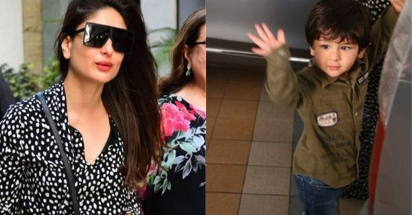 Kareena Kapoor Khan's Latest Outing With Taimur Proves That The *World Is Their Runway*