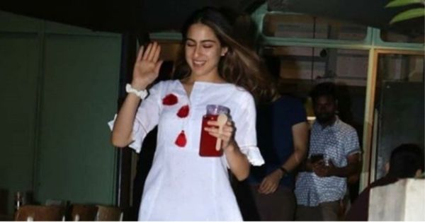 Sara Ali Khan's Elegant Dress Is In A Colour You Will Be Obsessed With Come Summer!