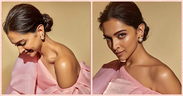 Is It Ranveer Or Is It Highlighter? Deepika Padukone's Glowing To The Moon In Her Messy Bun!