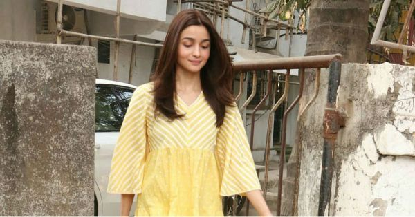 Gully Girl Alia Bhatt Suited Up Desi Style For The Salon And *It Was All Yellow*