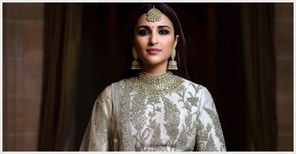 Parineeti Chopra Aces That Maharani Style With A Sexy Smokey Eye!