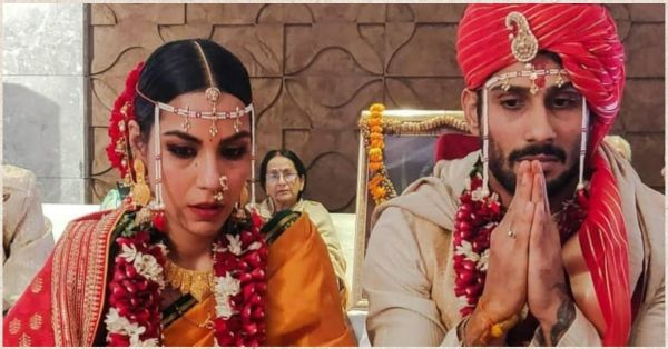 First Pictures: Prateik Babbar Is Now Married To His Longtime Girlfriend Sanya Sagar!