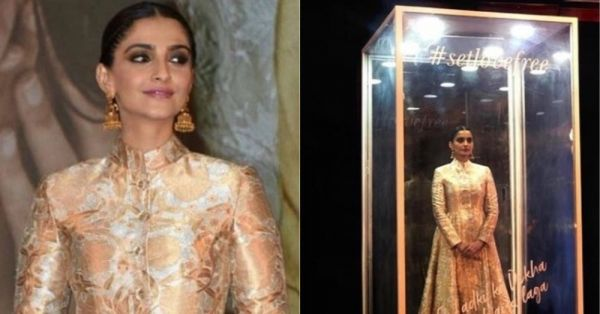 Sonam Kapoor Might Be Locked Up In A Box, But Her Sartorial Style Is Breaking The Glass Ceiling