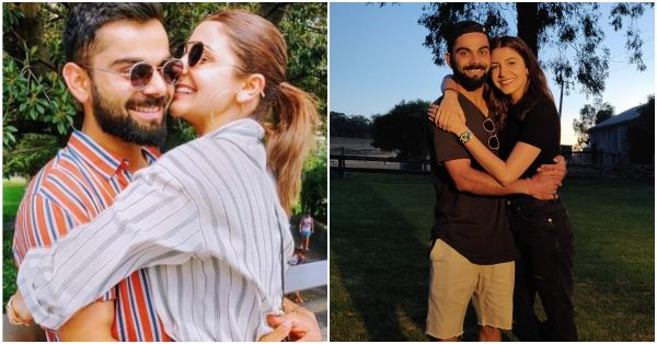 Arm-In-Arm, Virat And Anushka Are Off To Their Next Vacay In A Private Jet!